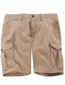Baumwoll Cargo-Shorts mit Stretch sand_56 | 36