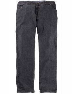 Leichte Baumwoll-Jeans mit Stretch grau_5 | 60