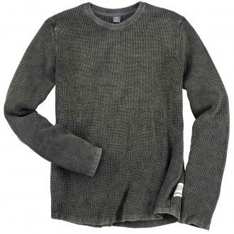 Leichter Strick-Pullover schwarz_9999 | 3XL