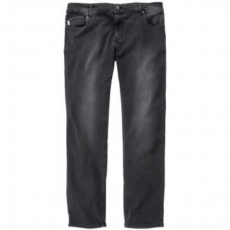 Sehr elastische Stretch-Jeans schwarz/schwarz_050 | 34