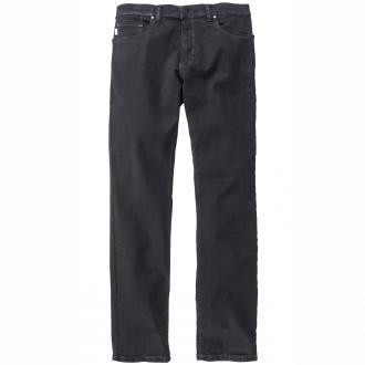 Super bequeme Jeans mit hohem Stretch-Anteil schwarz_6187/2079/00 | 28