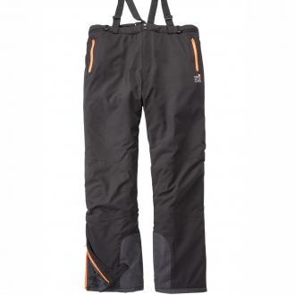 Leichte Skihose mit Trägern schwarz_099 | 6XL