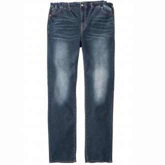 Jeans mit Gummieinsatz und Stretch blau_597 | 3XL
