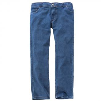 Five Pocket Jeans mit Kurzleibbund mittelblau_24 | 60