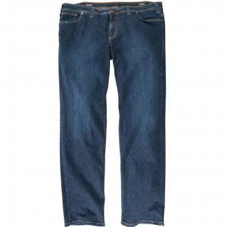 Jeans mit hohem Stretchanteil mittelblau_24 | 62