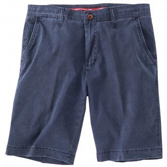 Short mit seitlichen Einschubtaschen blau_22 | 35