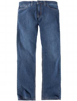Leichte Baumwoll Jeans mit Stretchanteil blau_25 | 34