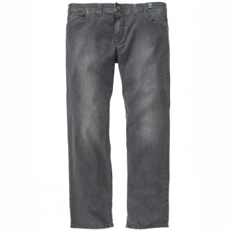 Leichte Baumwoll-Jeans mit Stretchanteil grau_5 | 60