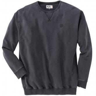 Leichtes Baumwoll-Sweatshirt schwarz_099 | 5XL