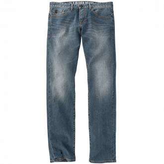 5-Pocket Jeans im Usedlook blau_56Z4 | 42/30