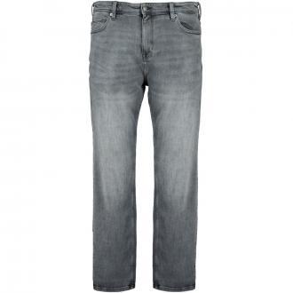 Stretch-Jeans mit Waschung grau_95Z4 | 42/30