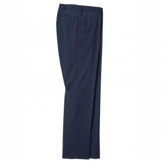 Baukasten Schurwoll-Gemisch & Stretchkasten-Anzughose blau_5884 | 62