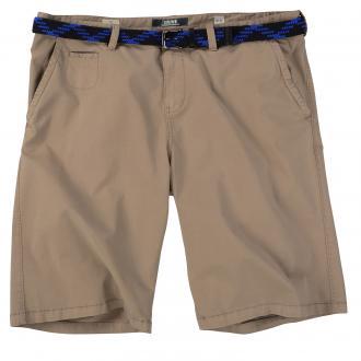 Short mit elastischem Flechtgürtel beige_8515 | W44