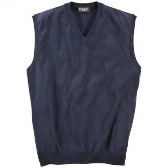 Pullunder aus Merino-Wolle dunkelblau_401 | 62