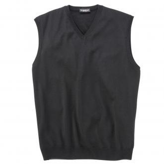 Pullunder aus Merino-Wolle schwarz_700 | 62