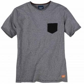 Rundhals-T-Shirt kurzarm anthrazit_0900 | 3XL