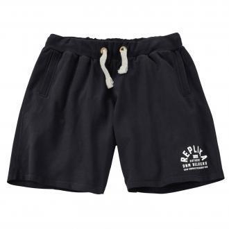 Sweat-Shorts kurz schwarz_99   3XL