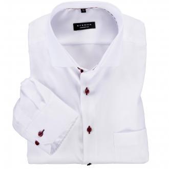 Cityhemd mit Kentkragen langarm - bügelfrei weiß_00 | 47