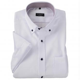 Schickes Business-Hemd mit kurzem Arm weiß_00 | 45