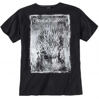 "T-Shirt mit ""GAME OF THRONES""-Druck schwarz_099 
