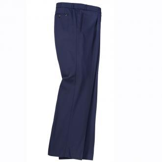 Klassische Bundfaltenhose blau_25 | 60