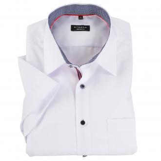 Klassisches Business-Hemd, kurzarm weiß_00 | 46