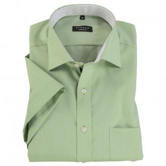 Sommerliches Business-Hemd mit kurzem Arm hellgrün_049 | 45