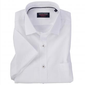 Elegantes Kurzarmhemd weiß/weiß_000 | XXL