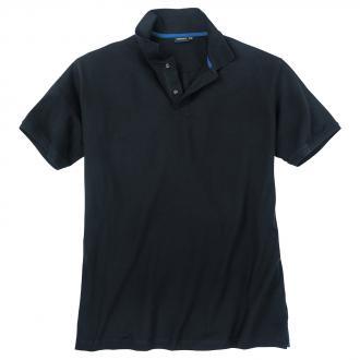 Poloshirt mit Elasthananteil, kurzarm dunkelblau_01 | 3XL