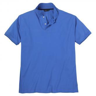Poloshirt mit Elasthananteil, kurzarm mittelblau_551 | 4XL
