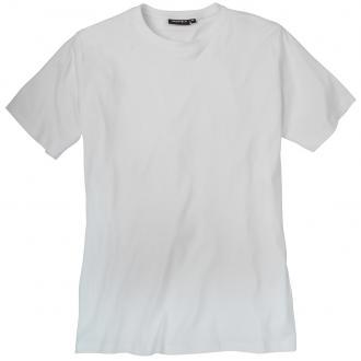 Schlichtes Basic-T-Shirt in bequemer Passform weiß_16 | 3XL