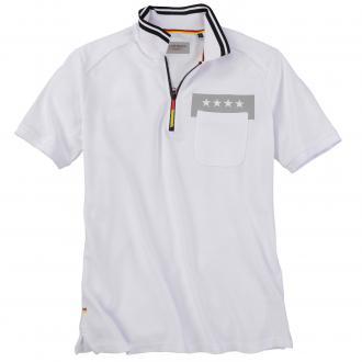 Modisches Poloshirt im WM-Look weiß/weiß_000 | 6XL