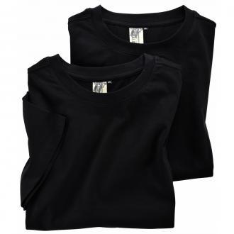 Doppelpack T-Shirts schwarz_99 | 3XL