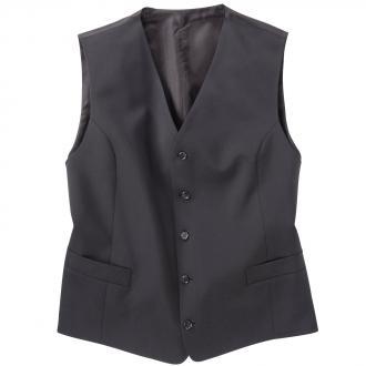 Weste für Baukasten Anzug schwarz_10 | 60