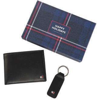 Portemonnaie und Schlüsselanhänger im Set schwarz_02 | One Size