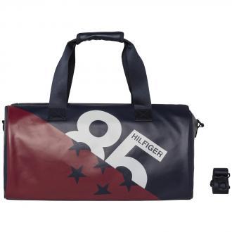Sportliche Reisetasche mit Corporate Design blau/rot_901 | One Size