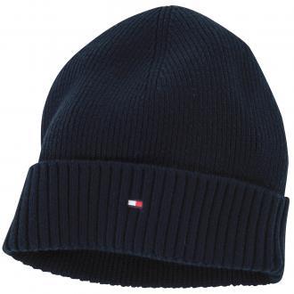 Coole Strickmütze mit Logo-Stickerei, One-Size blau_413 | One Size