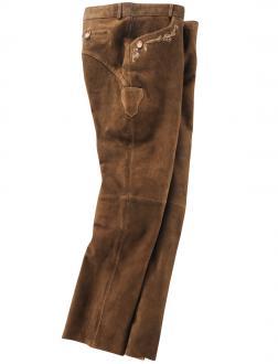 Lange Trachten-Lederhose braun_RINDE | 31