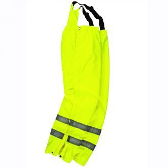 Funktionelle Warnschutz- Arbeitshose gelb_400 | 3XL