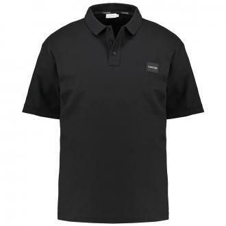 "Piquet Poloshirt ""Calvin Klein"" schwarz_BDS | 4XL"