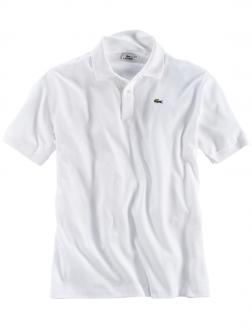 Sportives Polohemd aus hochwertigem Baumwoll-Piqué weiß_001 | 4XL