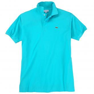Sportives Polohemd aus hochwertigem Baumwoll-Piqué türkis_XA4 | 6XL