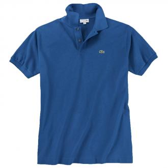 Sportives Polohemd aus hochwertigem Baumwoll-Piqué mittelblau_Z7Z | 3XL