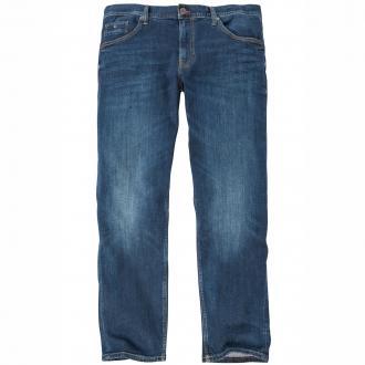 5-Pocket-Jeans mit modischer Waschung dunkelblau_9190 | 44/32