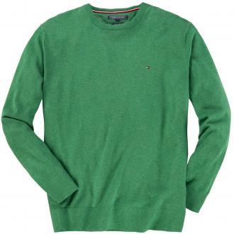 Pullover mit Logo-Stickerei grün_324 | 4XL