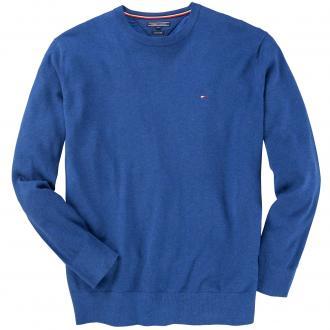 Pullover mit Logo-Stickerei blau_405 | 3XL
