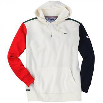 Bequemes Sweatshirt im Farbenmix weiß_90200 | 3XL