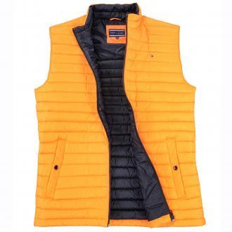 Leichte Daunen-Weste orange_851 | 3XL