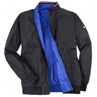 Trendige, zweifarbige Wende-Jacke schwarz 083   3XL ... e1a378a91e