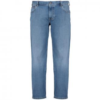 Stretch-Jeans mit leichter Waschung blau_1A6   42/30